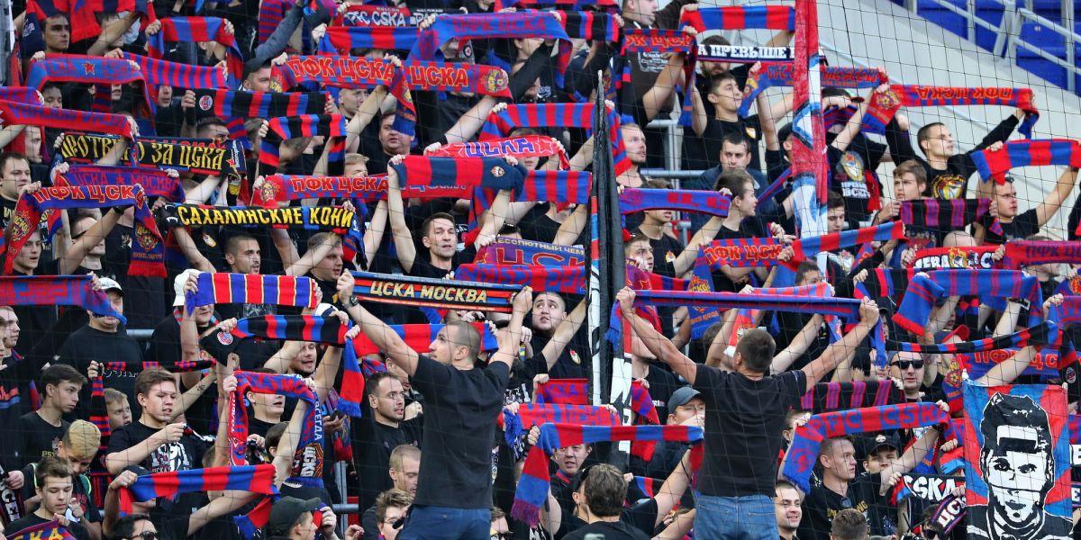 Суд оштрафовал ЦСКА на 200 тысяч за нарушения на матче против «Динамо»