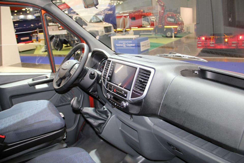 ГАЗ защитил дизайн щитка приборов для новой современной «ГАЗели»