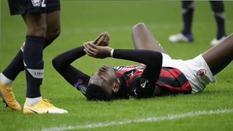 «Милан» прервал 24-матчевую серию без поражений в игре с «Лиллем»