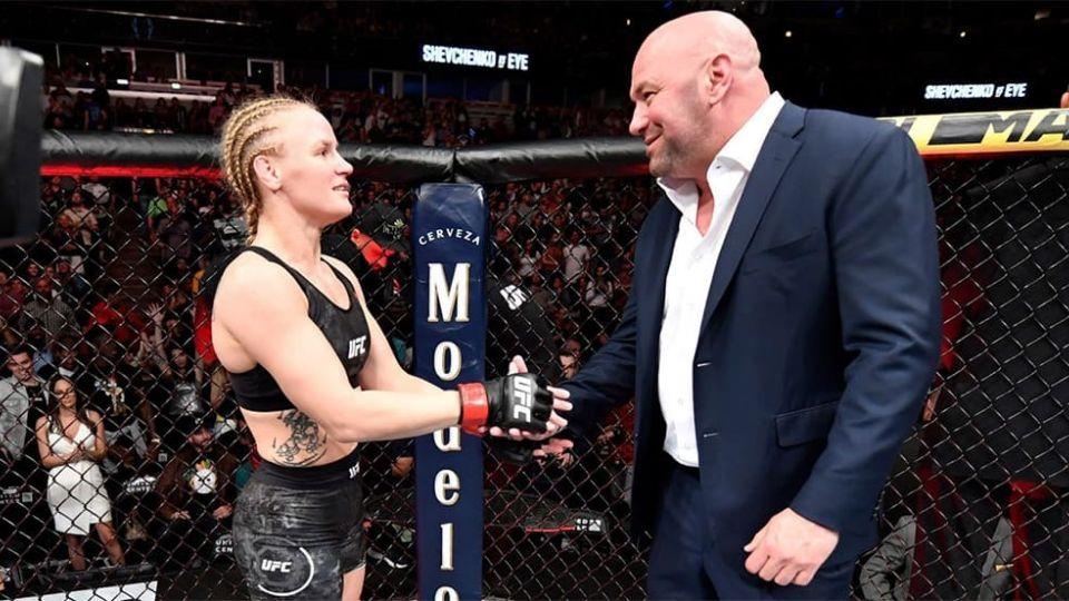 Президент UFC назвал потенциальную соперницу для Шевченко
