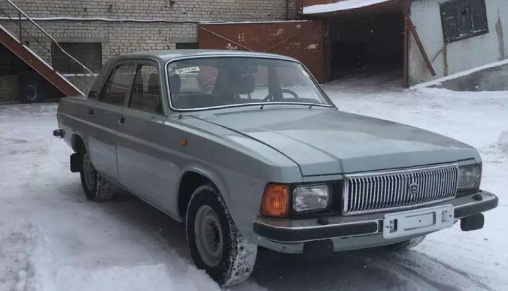 В России за 21 млн рублей продают «Волгу» почти без пробега