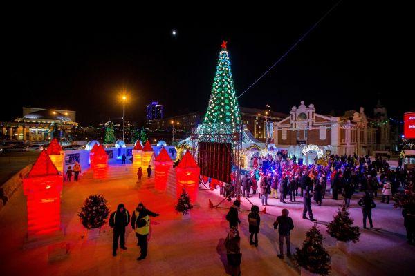 В Тюмени на ледовый городок потратят 5 миллионов рублей