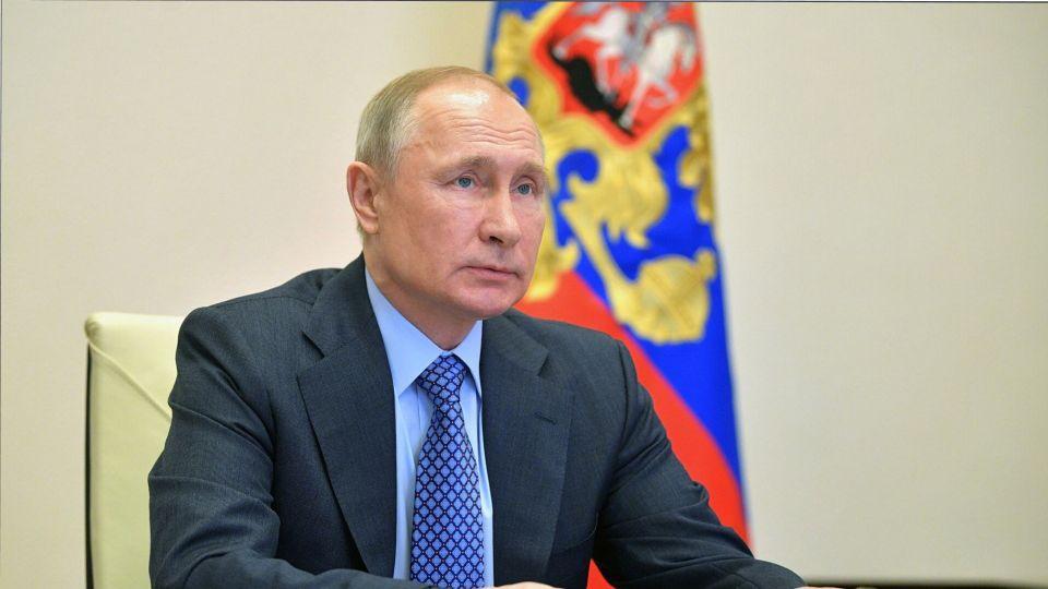 Путин поздравил сотрудников МВД РФ с профессиональным праздником