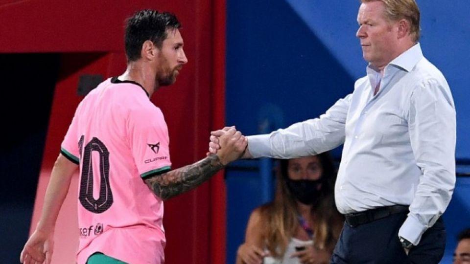 Куман рассказал, о чем беседовал с Месси после перехода в «Барселону»