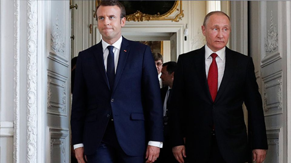 Москва возмущена утечкой еще одного разговора Путина и Макрона