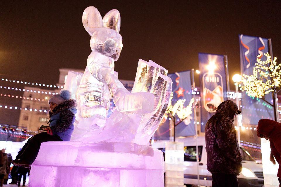 Ледовый городок на площади Революции в Челябинске построят за 6,7 млн