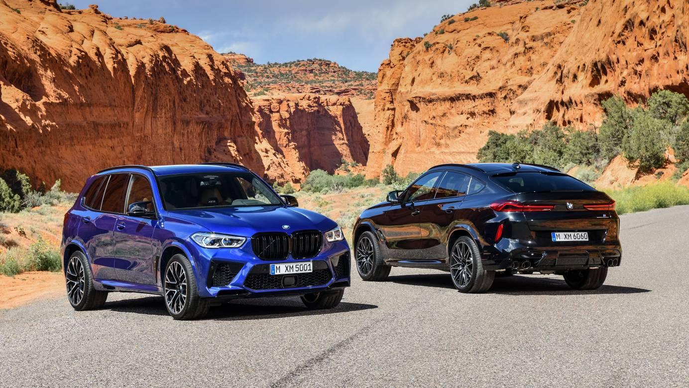 В России стартовал прием заказов на BMW X5 M и X6 M Competition в версии First Edition