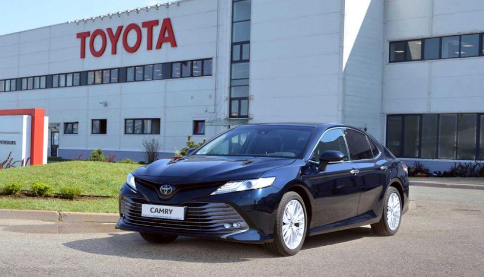 Toyota отозвала из России почти 70 тысяч автомобилей