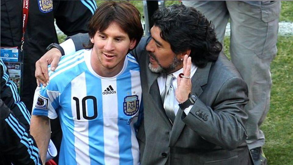 Месси почтил память Марадоны во время матча чемпионата Испании