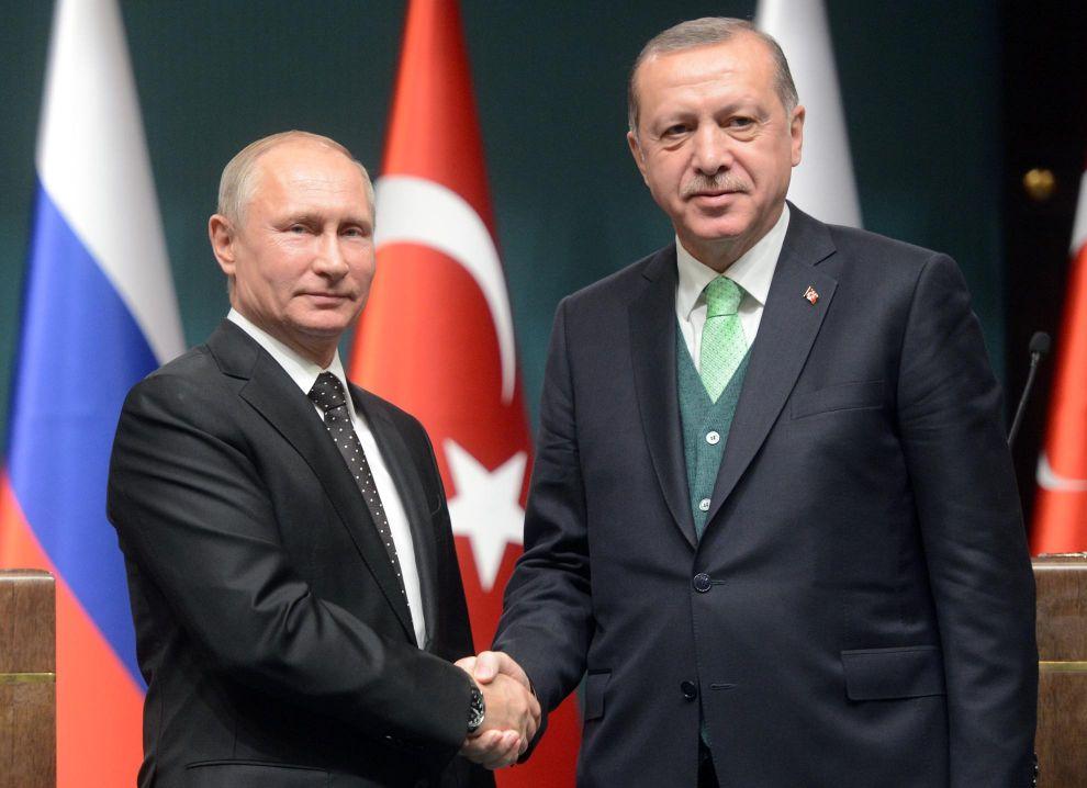 Песков: указ Эрдогана об отправке военных в Азербайджан касается мониторингового центра