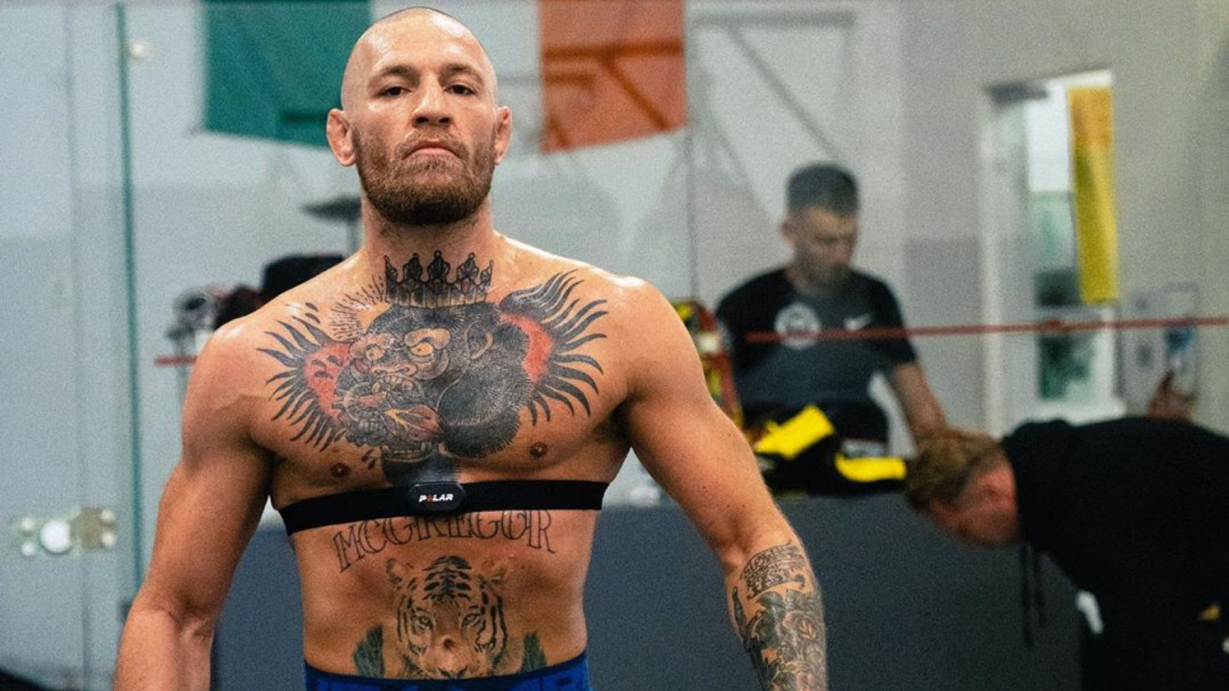 Макгрегор показал, как готовится к возвращению в UFC