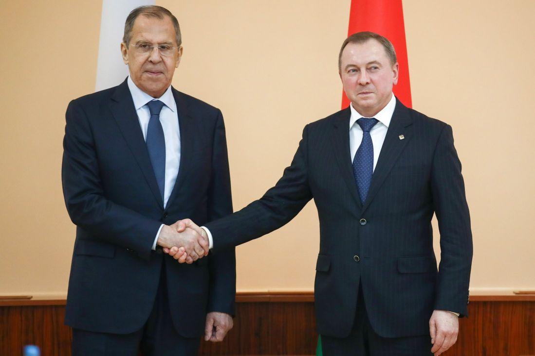 Главы МИД России и Белоруссии начали встречу один на один