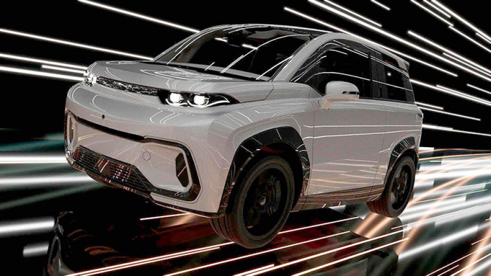 В НТИ разработали первый российский серийный электромобиль-кроссовер