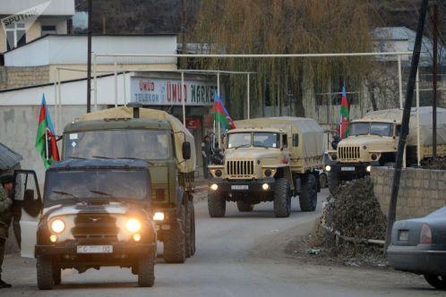Армия Азербайджана вошла в Кельбаджарский район Нагорного Карабаха