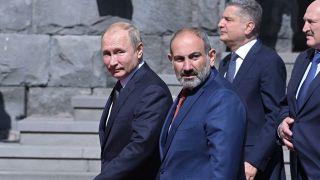 Пашинян назвал себя главным ответственным за ситуацию в Нагорном Карабахе