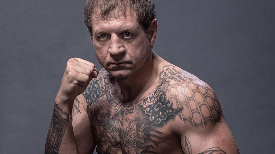 Александр Емельяненко сообщил о готовности к бою