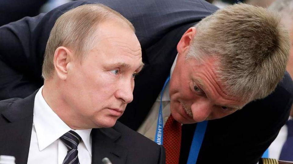 Песков заявил, что не читал публикации о женщине, якобы знакомой с Путиным