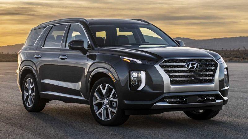 В России начались продажи нового кроссовера Hyundai Palisade