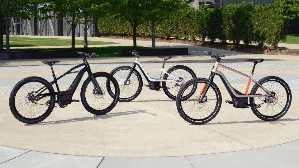 Harley-Davidson выпустит четыре модели электрических велосипедов