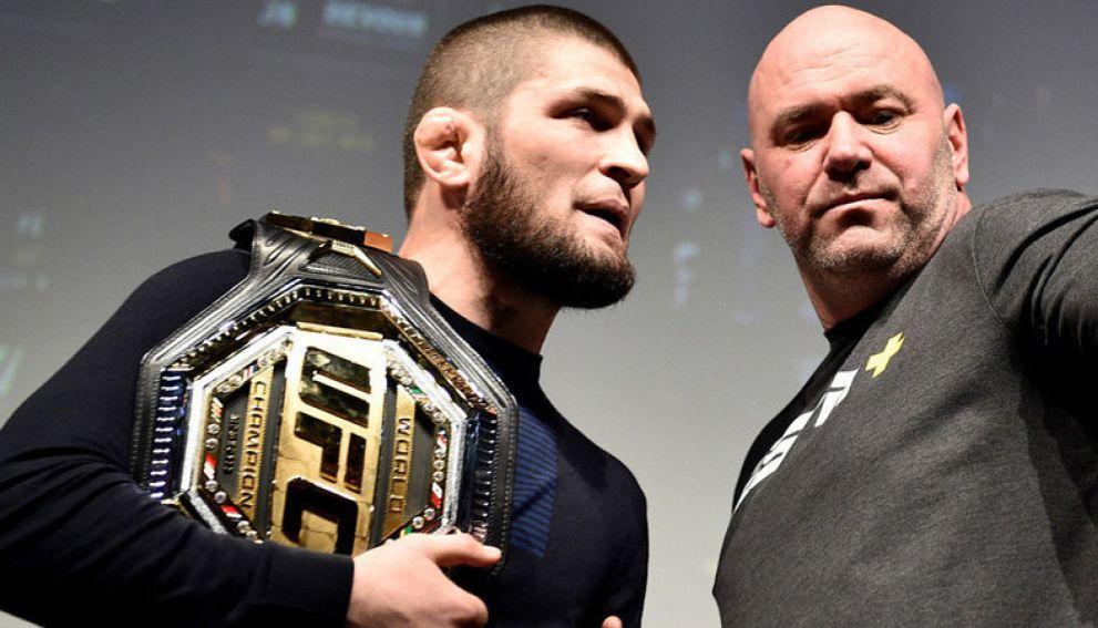 Глава UFC Уайт отреагировал на заявление Нурмагомедова