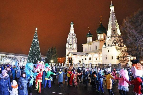 В Ярославле отменили новогоднее представление на главной площади