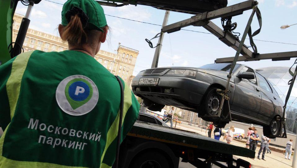 Около 13 тыс. автомобилей эвакуировали с парковок для инвалидов в Москве с начала года