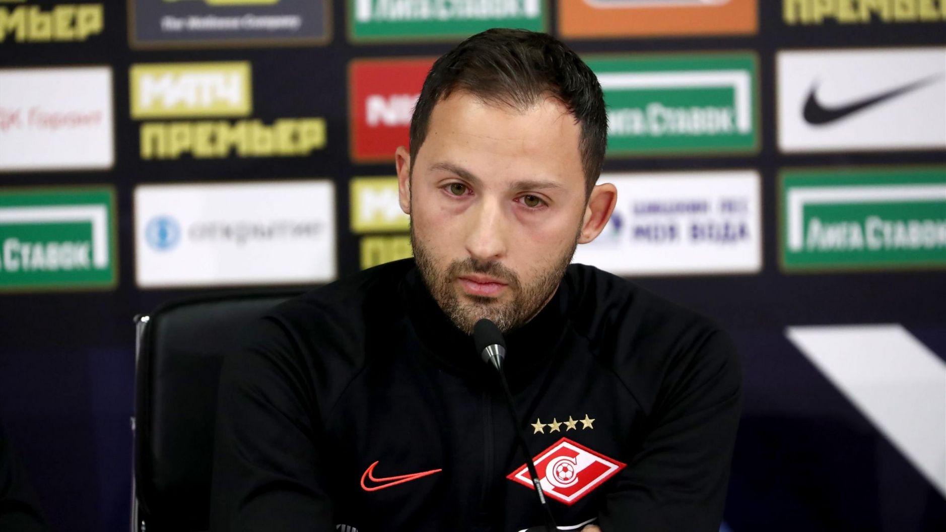 Тедеско допустил, что «Спартак» может играть в четыре защитника
