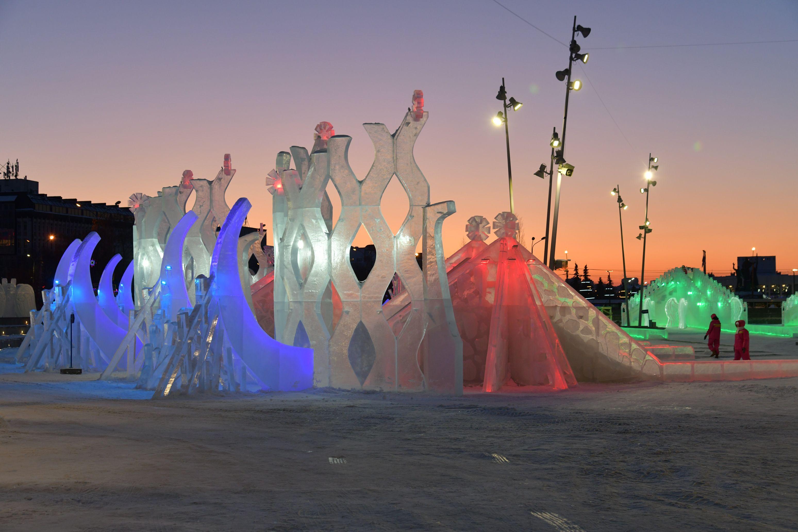 В Перми отменят возведение ледового городка на эспланаде в этом году