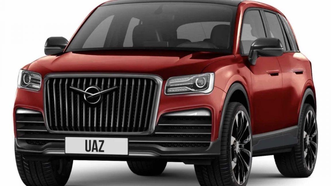 Кроссовер УАЗ-3170 показали на новых рендерах