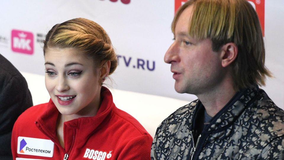Косторная высказалась о подходе Плющенко к тренировкам
