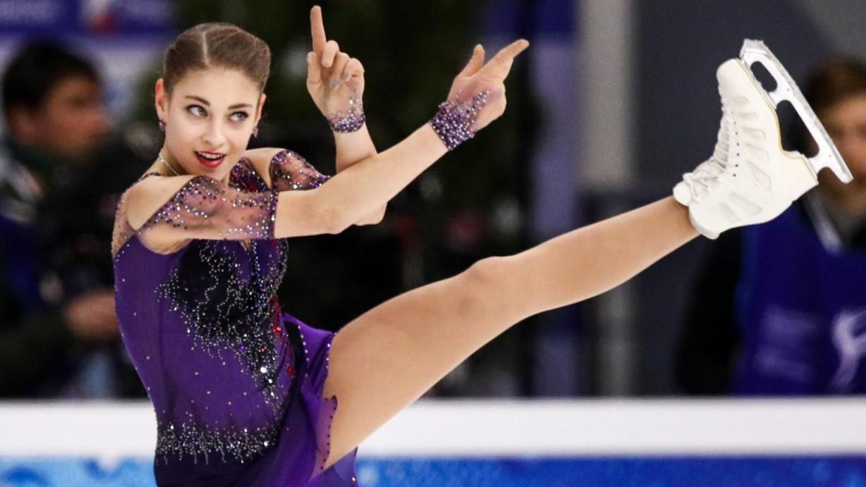 Вчера: Косторная опередила Трусову в короткой программе на этапе КР в Казани