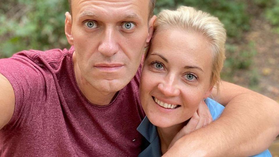 СМИ узнали о планах Запада заменить Навального его женой