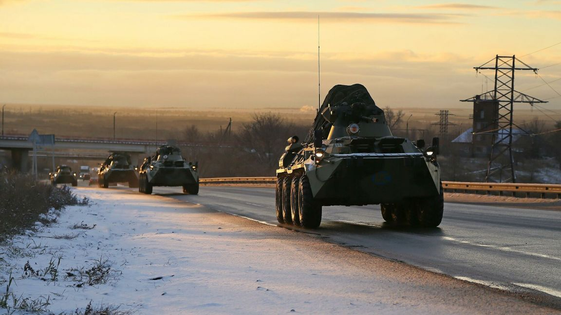 Российские миротворцы продвигаются вглубь Нагорного Карабаха
