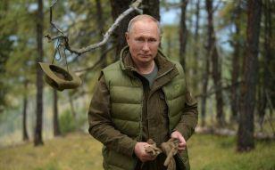 Путин впервые показал свою комнату отдыха в резиденции в Ново-Огарево