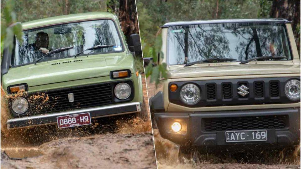 Вчера: Австралийцы сравнили новый Suzuki Jimny и Lada 4x4
