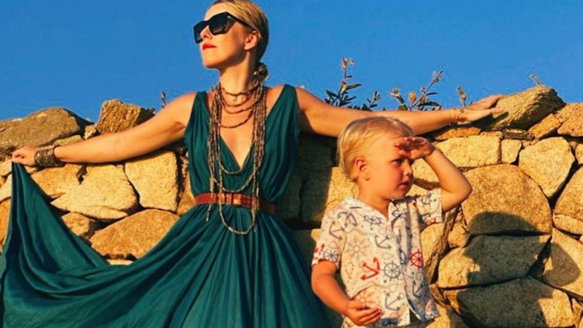 Ксения Собчак с сыном отдыхает в Дубае