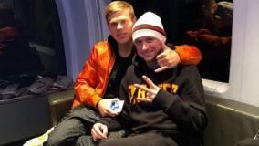 Кокорин и Мамаев вместе уехали со стадиона «Спартака»
