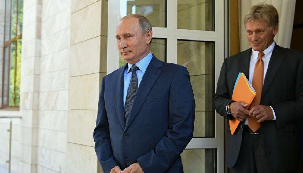 Песков объяснил неучастие Путина в вакцинации от коронавируса