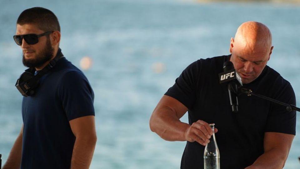Хабиб Нурмагомедов заявил о намерении встретиться с главой UFC