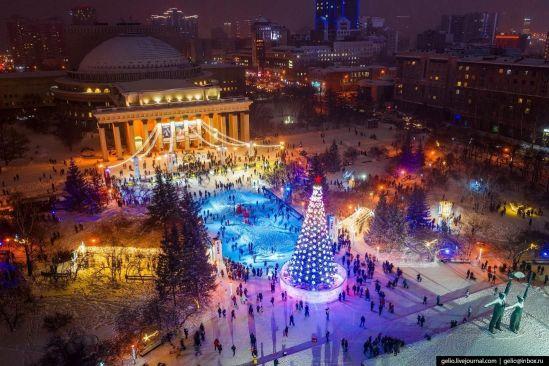 В Новосибирске к концу декабря зальют 21 каток