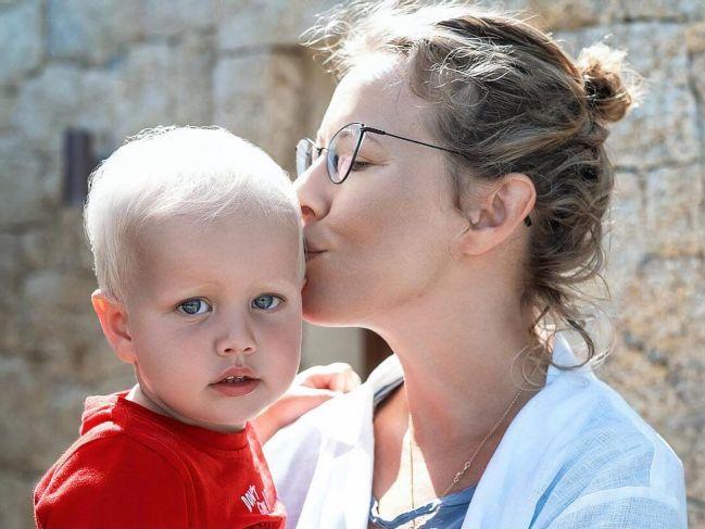 Ксения Собчак и Максим Виторган поздравили сына Платона с днем рождения