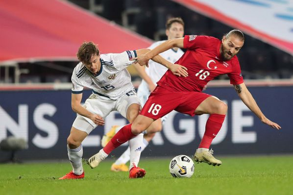 Сборная России по футболу проиграла Турции в Лиге наций