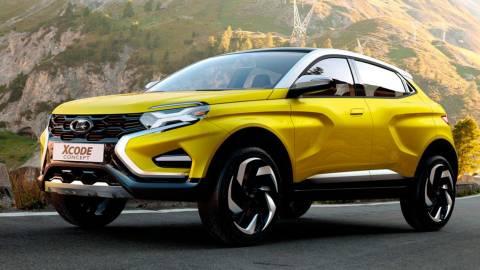 АвтоВАЗ готовится к выпуску нового кроссовера Lada с 4х4