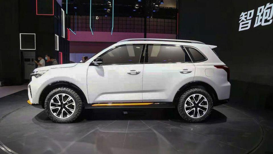 Новый Kia Sportage в стиле Sorento представили в Китае