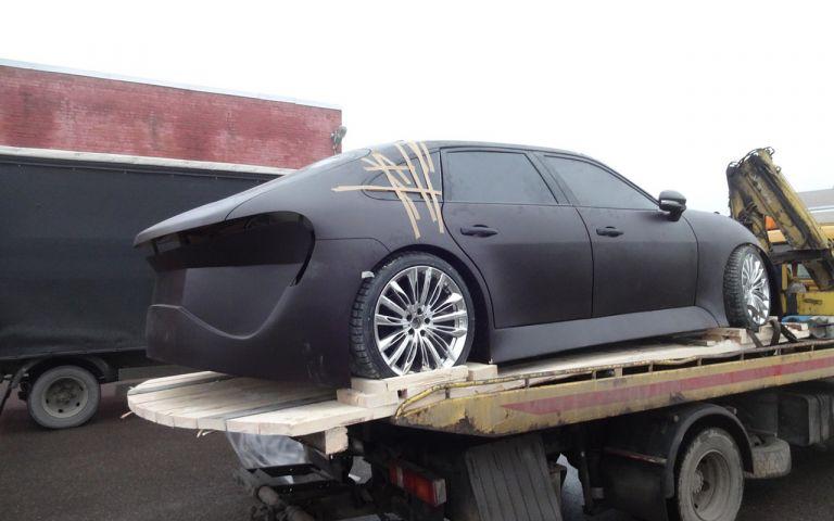 В России разработали премиальный электромобиль Monarch