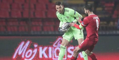 Вратаря Гильерме признали худшим игроком сборной России в матче с Сербией