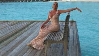 Анастасия Волочкова не стала отвечать на вопрос о внешности ее жениха