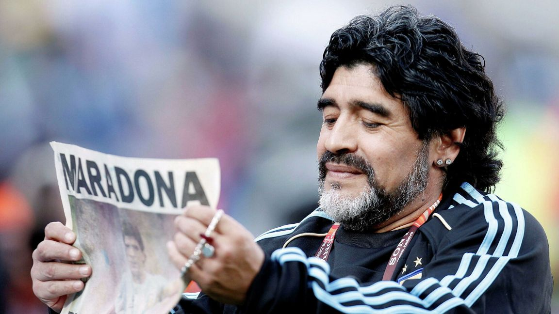 Роналду выразил соболезнования в связи со смертью Марадоны