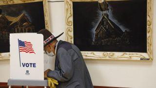 Более 2,6 тыс. неучтенных голосов обнаружили при пересчете в Джорджии
