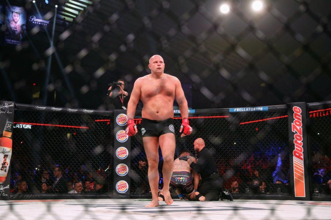 Фёдор Емельяненко заявил, что хотел бы провести бой за титул Bellator